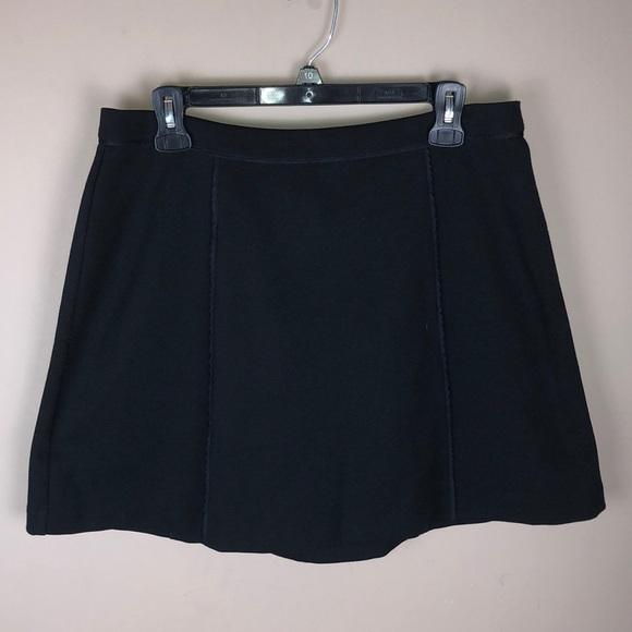 MICHAEL Michael Kors Dresses & Skirts - Michael Michael Kors Black Panel Skirt